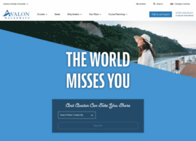 avaloncruises.co.uk