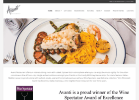 avantirestaurants.com
