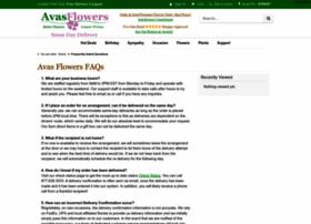 avas-flowers-faq.avasflowers.net
