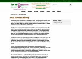 avas-flowers.avasflowers.net