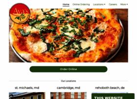 avaspizzeria.com