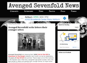 avengedsevenfoldnews.com