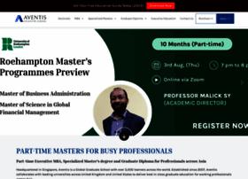aventis.edu.sg