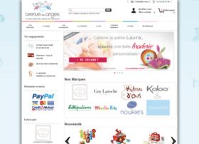 avenuedesanges.com