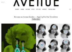 avenuemagazine.com