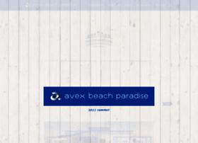 avexbeachparadise.com