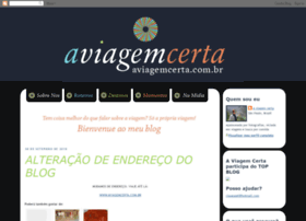 aviagemcerta.blogspot.com