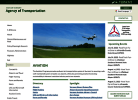 aviation.vermont.gov