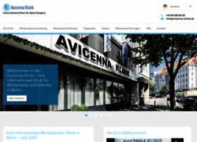 avicenna-klinik.de