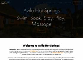 avilahotsprings.com
