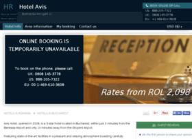 avis-hotel-bucharest.h-rez.com