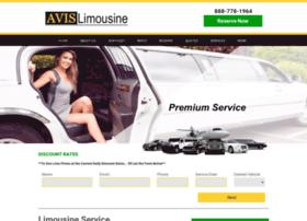 avislimousineservice.com