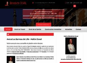 avocat-benedicte-duval.fr
