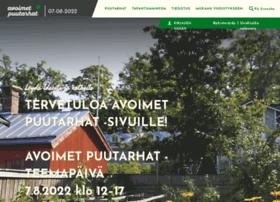 avoimetpuutarhat.fi