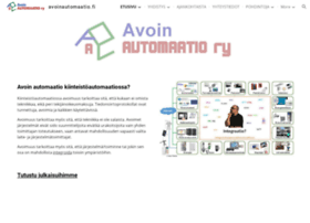 avoinautomaatio.fi