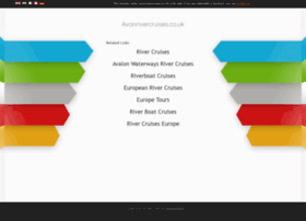 avonrivercruises.co.uk