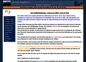 avosmaths.free.fr