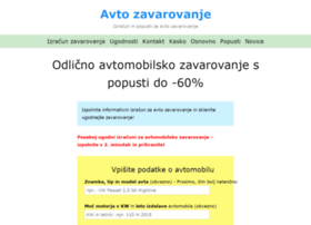 avtozavarovanje.com