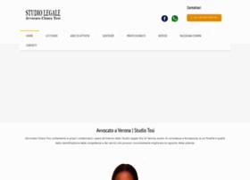 avvocatoveronatosi.com