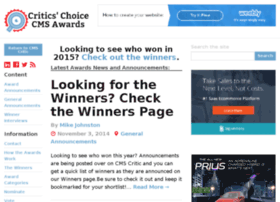 awards.cmscritic.com
