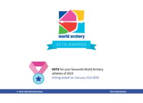 awards.worldarchery.org