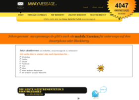 awaymessage.de
