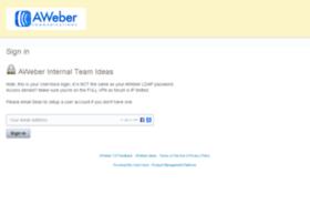 awebercs.uservoice.com