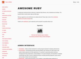 awesome-ruby.com