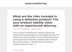 awesomeattorney.org