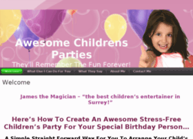 awesomechildrensparties.co.uk