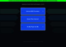 awesomeinternetnews.com