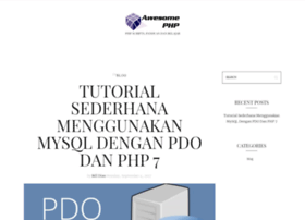 awesomephp.com