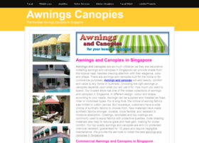awningscanopies.insingaporelocal.com