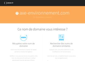 axe-environnement.com