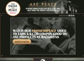 axeenlistforpeace.com