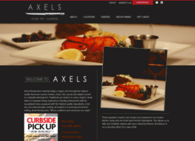 axelsrestaurants.com