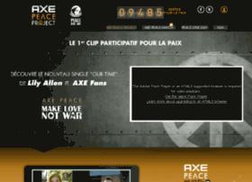 axepeaceproject.org