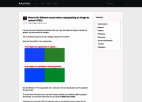 axertion.com
