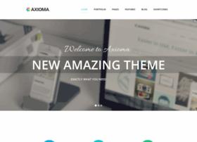axioma.webtemplatemasters.com