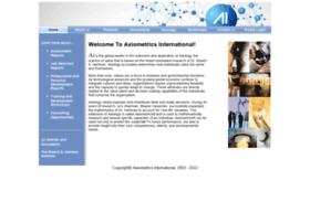 Axiometrics.net