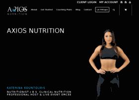 axiosnutrition.com