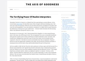 axis-of-goodness.com