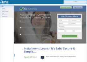 axis.epicloansystems.com