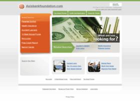 axisbankfoundation.com