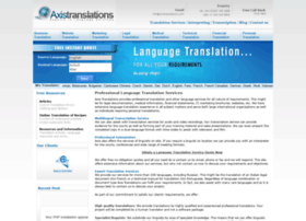axistranslations.com
