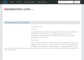 axiswarriors.com.ourssite.com