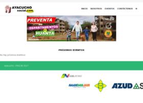 ayacuchosocial.com