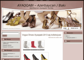 Ayaqqabi websites and posts on ayaqqabi