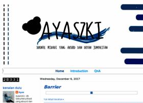 ayeayas.blogspot.com