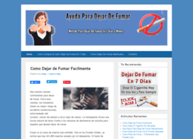 ayudaparadejardefumarya.info